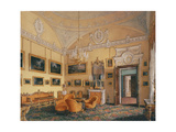 Interiors of the Winter Palace, the First Reserved Apartment Giclee Print by Eduard Hau