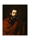 The Apostle Saint James the Great, 17th Century Giclée-tryk af Jusepe de Ribera