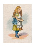 Alice and the Thimble, 1930 Giclee Print by John Tenniel