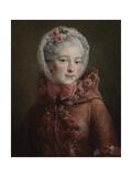 Portrait of Princess Natalya Petrovna Galitzine (1741-183), 1760 Giclee Print by François-Hubert Drouais