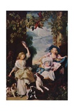 The Three Youngest Daughters of George III, 1937 Giclee Print by John Singleton Copley