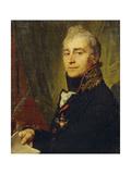 Portrait of Alexander Fedoseyevich Bestuzhev (1761-181), 1806 Giclee Print by Vladimir Lukich Borovikovsky