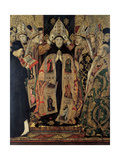 The Consecration of Saint Augustine Giclee Print by Jaume Huguet