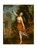 Françoise Prévost as Philomèle in the Opera by Louis Lacoste Giclee Print by Jean Raoux