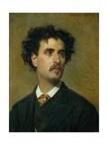 Portrait of Marià Fortuny Giclee Print by Federico de Madrazo y Kuntz