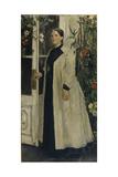 Portrait of Olga Pavlovna Orlova (1838-192) Giclee Print by Konstantin Alexeyevich Korovin