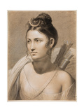 Diana, Second Half of the 18th C Giclee Print by Joseph-François Ducq