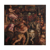 Triumph after the Victory of Pisa, 1563-1565 Giclée-Druck von Giorgio Vasari