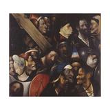 Hieronymus Bosch - Christ Carrying the Cross, 1515-1516 Digitálně vytištěná reprodukce