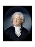Portrait of Honoré Gabriel Riqueti, Comte De Mirabeau (1749-179) Giclee Print by Joseph Boze