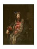 Portrait of Painter Martin Ryckaert (1587-163) Giclee Print by Anthonis van Dyck