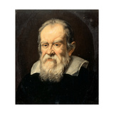 Portrait of Galileo Galilei Giclee Print by Francesco Boschi