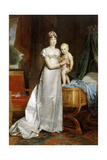 Empress Marie-Louise with the King of Rome Giclee Print by François Pascal Simon Gérard