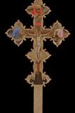 Portable, Double Sided Cross, 1335-1340 Giclee Print by Bernardo Daddi