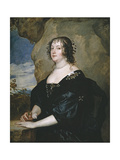 Portrait of Beatrice, Countess of Oxford Giclee Print by Anthonis van Dyck