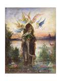 The Sacred Elephant (Pér) Giclee Print by Gustave Moreau