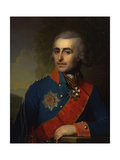 Portrait of the General-Aide-De-Camp Count Pyotr Tolstoy (1761-184) Giclee Print by Vladimir Lukich Borovikovsky