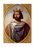 Charles I of Anjou Giclee Print by Henri Decaisne
