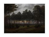 The Times of Day: the Evening, 1821-1822 Giclee Print by Caspar David Friedrich