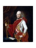 Portrait of Emperor Joseph II (1741-179) Giclée-tryk af Anton von Maron
