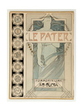 Cover Design for the Illustrated Edition Le Pater Giclee Print by Alphonse Mucha