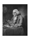 Benjamin Franklin, C1766 Giclee Print by David Martin