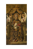 Saint Peter Enthroned Giclee Print by Rodrigo de Osona
