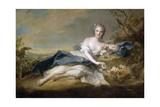 Princess Anne Henriette of France (1727-175) Giclee Print by Jean-Marc Nattier