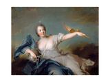 Marie-Anne De Nesle, Marquise De La Tournelle, Duchesse De Châteauroux (1717-174) Giclee Print by Jean-Marc Nattier