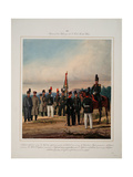 5th Kaluga Infantry Regiment of the Emperor Wilhelm I of Prussia, 1861 Giclee Print by Karl Karlovich Piratsky