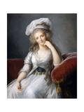 Louise Marie Adélaïde De Bourbon-Penthièvre, Duchess of Orléans Giclee Print by Marie Louise Elisabeth Vigée-Lebrun