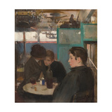 Interior of the Moulin De La Galette Giclee Print by Ramon Casas