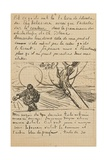 The Sower, Letter to Theo from Arles, C. 25 November 1888 Giclee Print by Vincent van Gogh