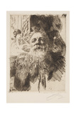 Auguste Rodin Giclee Print by Anders Leonard Zorn