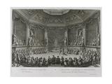 Le Grand Divertissement Royal De Versailles, July 18, 1668 Giclee Print by Jean le Pautre