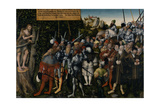 The Sermon of John the Baptist, 1549 Giclee Print by Lucas Cranach the Younger