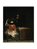 The Music Lesson Giclee Print by Gerard ter Borch