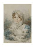 Portrait of Ekaterina Pavlovna Bagration (1783-185), Née Skavronska Giclee Print by Jean-Baptiste Isabey