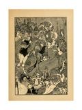 The Rape of the Lock Giclee Print by Aubrey Beardsley