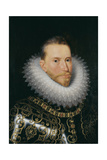 Portrait of Albert VII, Archduke of Austria (1559-162), Early 17th C Giclee Print by Frans Francken the Younger
