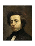 Portrait of Frédéric Chopin Giclee Print by Thomas Couture