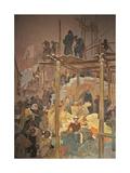 Jan Milic Z Kromerize (The Cycle the Slav Epi) Giclee Print by Alphonse Mucha