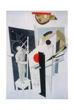 Tatlin at Work Giclee-trykk av El Lissitzky