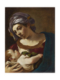 Madonna and Child Giclee Print by  Guercino