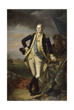 George Washington after the Battle of Princeton on January 3, 1777 Giclee Print by Charles Willson Peale