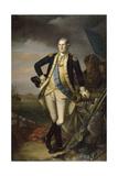 George Washington after the Battle of Princeton on January 3, 1777 Giclee Print