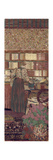 The Privacy. Decoration for the Library of Dr. Vaquez Giclee Print by Édouard Vuillard