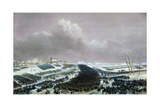 The Battle of Preussisch-Eylau on February 8, 1807 Giclee Print by Jean-Antoine-Siméon Fort