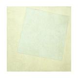 Suprematist Composition. White on White, 1918 Giclée-trykk av Kasimir Severinovich Malevich