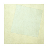 Suprematist Composition. White on White, 1918 Giclee Print